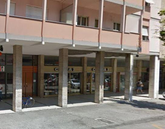 Viale Marconi 19 dove si è consumato il duplice omicidio Pordenone 12 ottobre 2015