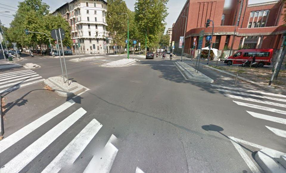 Viale dei Mille angolo Viale Giustiniani Milano