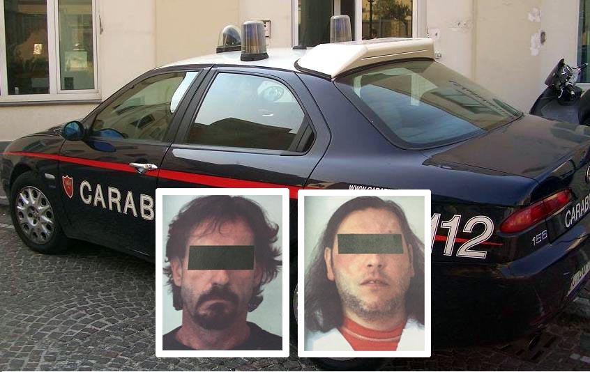 Da sinistra Rinaldo Costa e Andrea Invincibile tentata rapina e mancato omicidio di Renato Costa a Savona