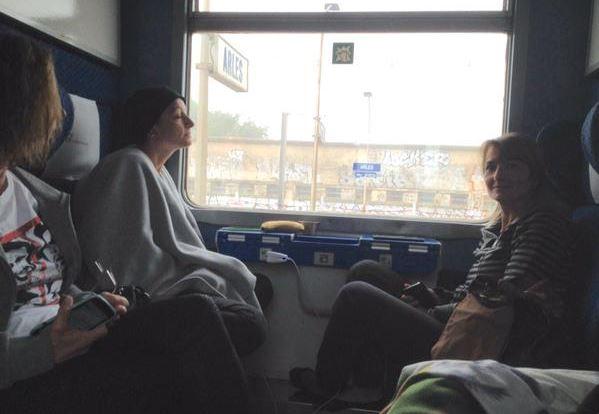 nubifragio Costa Azzurra pellegrini Unitalsi bloccati sui treni
