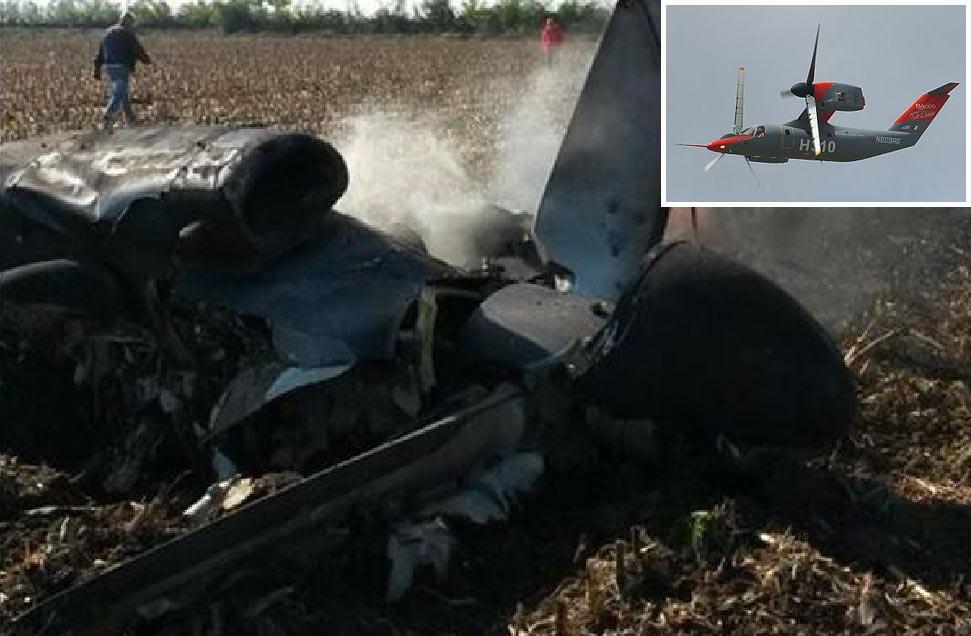 Vercelli, aereo esplode in volo. Morti i piloti Pietro Venanzi e Herbert Moran