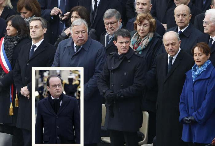 Le celebrazioni in memoria dei morti del 13 novembre a Parigi
