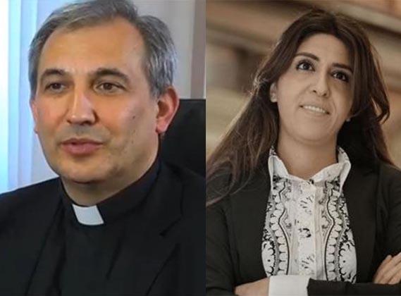 Monsignor Lucio Angel Vallejo Balda e Francesca Immacolata Chaouqui arrestati in Vaticano per Vatileaks 2