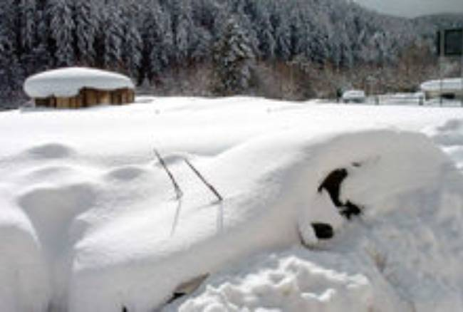 Maltempo, Neve in Sila. Pioggia e vento in Calabria e al Sud