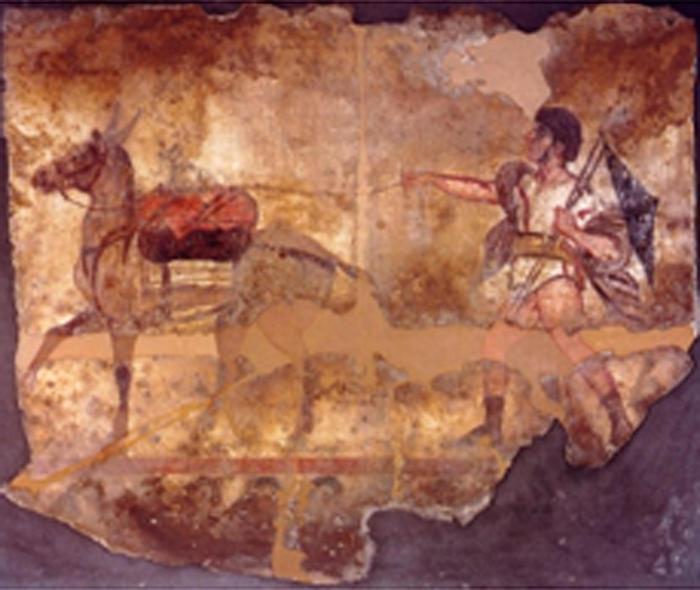 Carabinieri ritrovano antica tomba con dipinti di eroi Paestum