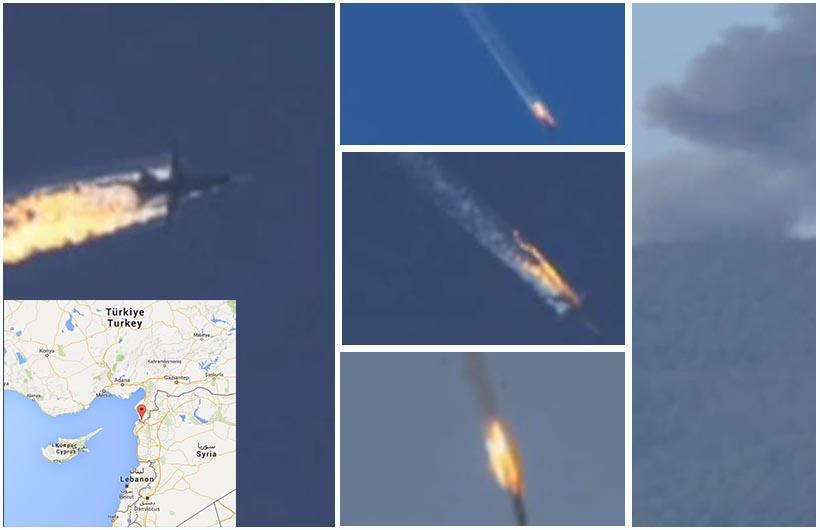 Caccia russo abbattuto in Turchia. Tensione Mosca- Ankara