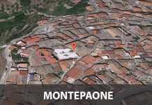Il segnaposto indica Via Umberto I a Montepaone