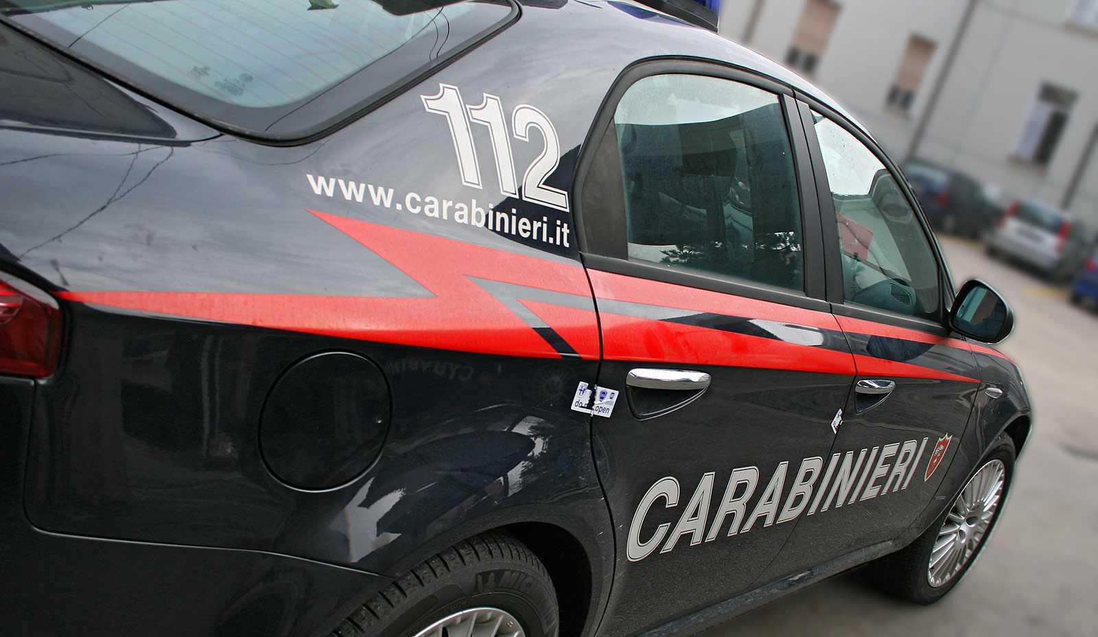 Auto dei Carabinieri