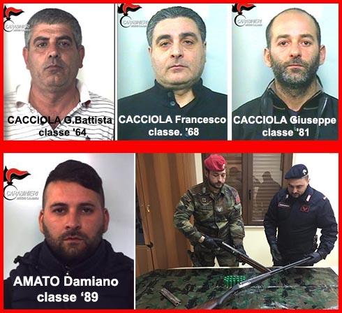 Reggio Calabria, 11 arresti nella Piana. Aggravamento per i Cacciola