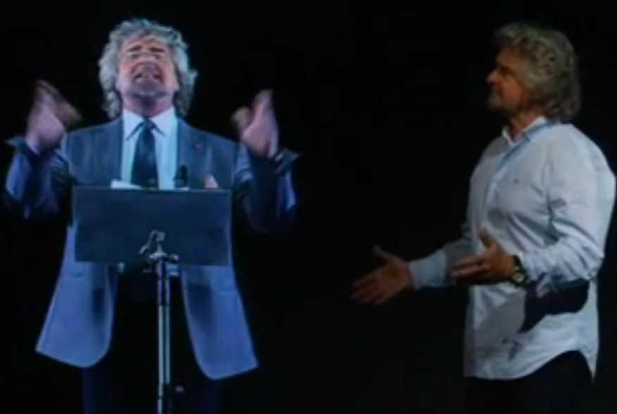 """Beppe Grillo (M5S): """"Mattarella è la controfigura di Renzi"""""""