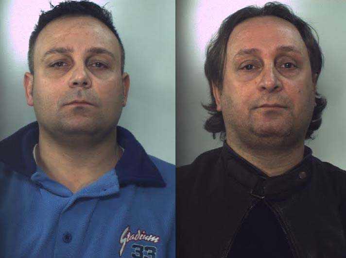 Cipriano Cioffo e Arturo Cioffo arrestati ad Aversa per omicidio rumena a Villa di Briano