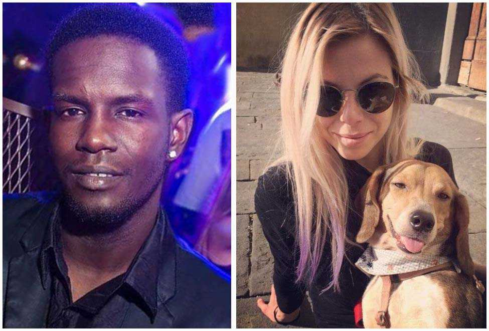 Diaw Cheikh Tidiane e la vittima Ashley Olsen
