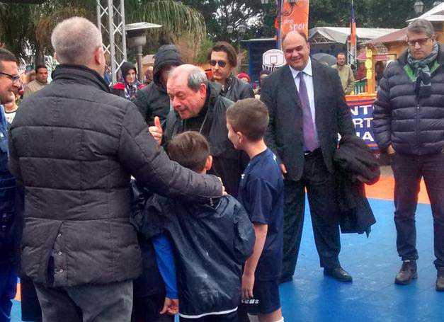 Sporting Locri, in piazza per la Befana della legalità