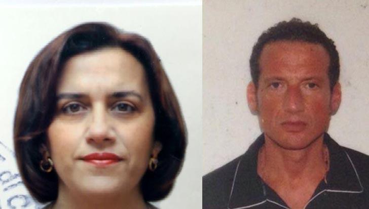 la vittima Annalisa Giordanelli e Paolo di Profio