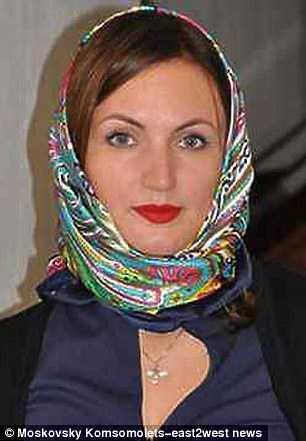La madre della bimba Ekaterina Meshcheryakova