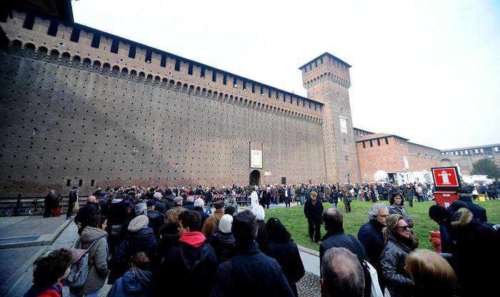 Funerali Umberto Eco Milano