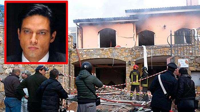 Gabriel Garko esplode Villa Sanremo