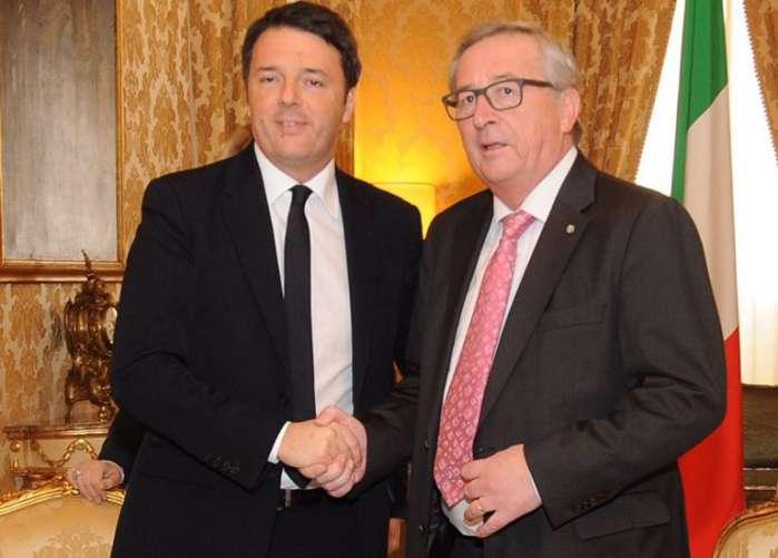 Incontro Renzi Juncker. E' disgelo dopo lo scontro
