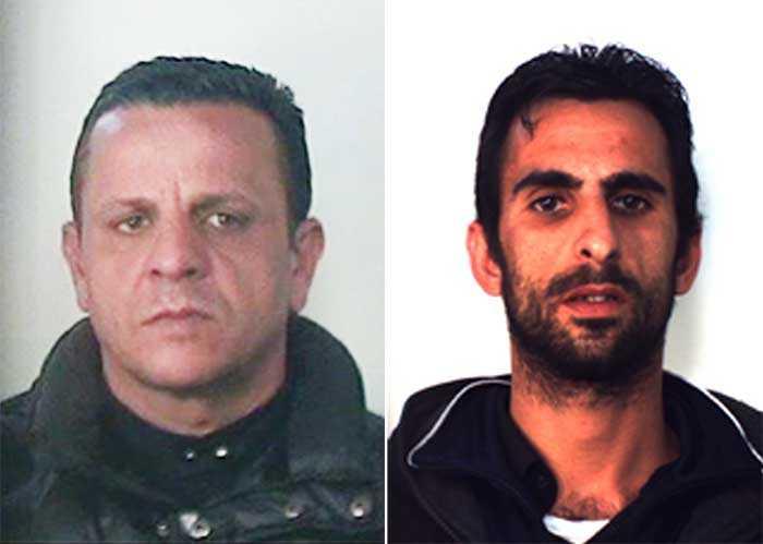 Nicola Culosi e Marcello Reito rapinatori in trasferta da Catania a Torino