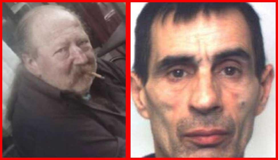 Da sinistra, la vittima Pierpaolo Pomatto e il presunto killer Mario Perri
