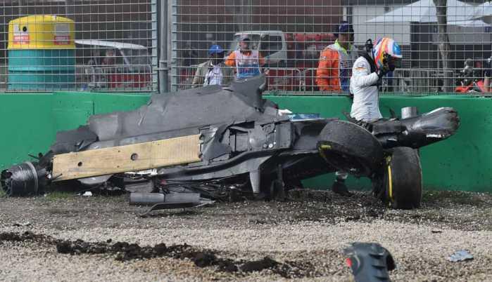 F1: Gran Premio Australia, trionfa Rosberg. Paura Alonso