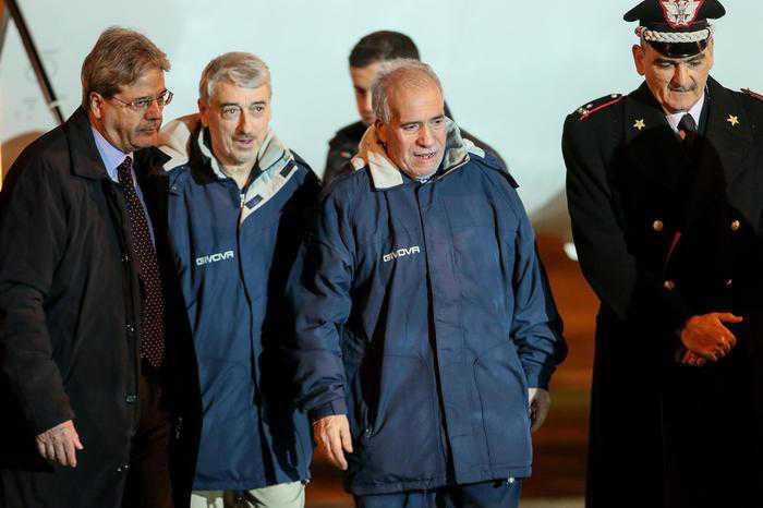 Rapiti in Libia, Gentiloni:
