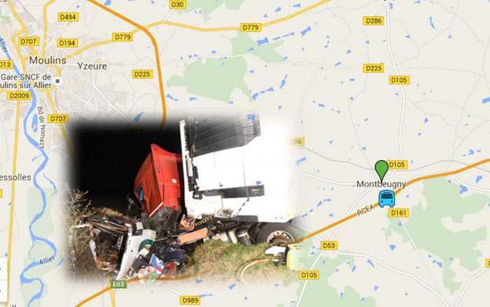L'incidente avvenuto su una strada a Montbeugny, Francia. Morti 12 portoghesi