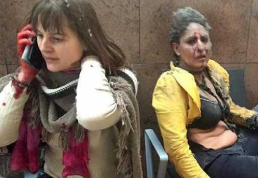 Feriti negli attentati a Bruxelles