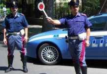 Pasqua a Cosenza. Polizia impegnata nei controlli