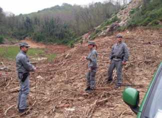 Torano Castello, il Cfs sequestra cantiere sicurezza torrente