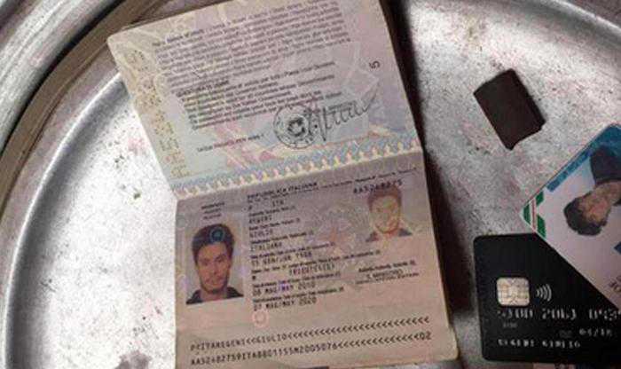 I documenti di Giulio Regeni trovati a Il Cairo