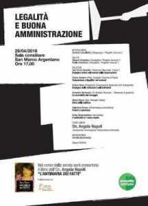Legalita e buona amministrazione