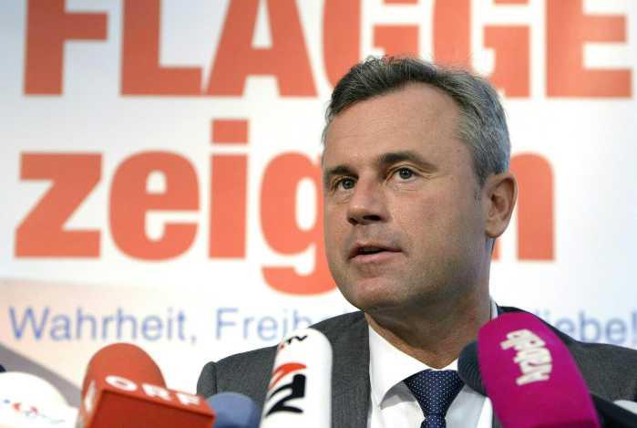 Elezioni in Austria: vince Fpoe di Norbert Hofer, estrema destra