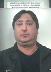 Petilia Policastro, arrestato un 45enne, Salvatore Gigliotti, per evasione dai domiciliari
