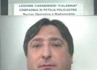 Petilia Policastro, arrestato un 45 Salvatore Gigliotti evaso dai domiciliari