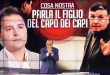Salvo Riina, figlio del boss di mafia a Porta a Porta. Polemiche