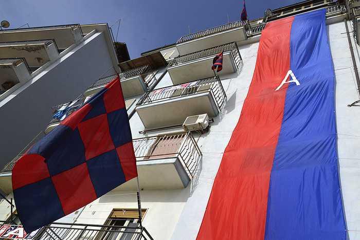 Il Crotone rinvia la festa per la promozione in serie A
