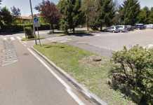 L'area a Cusano Milanino dove è stato trovato il cadavere della donna