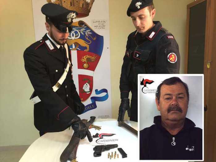 Armi e munizioni, arrestato a Gioia Tauro Alfonsino Barillà