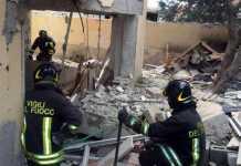 Esplosione a Roma, crolla palazzo in zona La Rustica. 4 Feriti