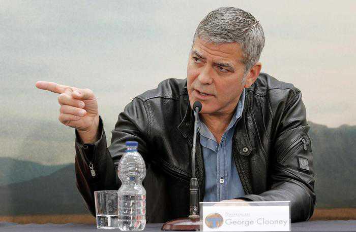 L'attore sexy symbol George Clooney compie 55 anni