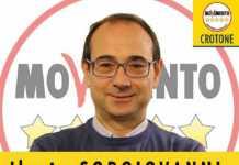Ilario Sorgiovanni candidto sindaco a Crotone del M5S