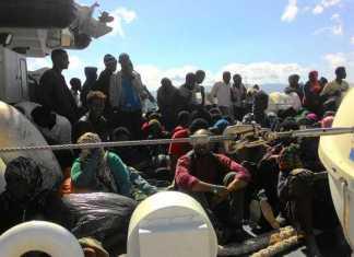 Sbarco di 639 migranti a Crotone e Reggio Calabria