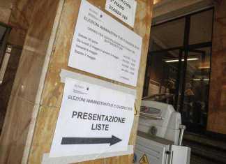 Elezioni comunali, presentate le liste