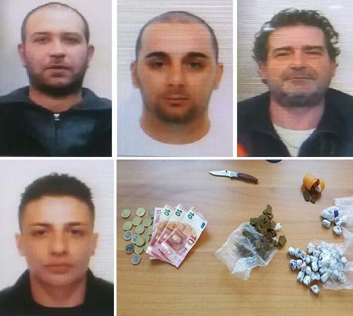 Droga, quattro arresti tra Rogliano e Cosenza Arrestati Cesare Vittorio Altomare, Salvatore Carbone, Giovanni Pagliaro e Roberto Olibano jr