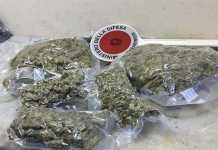 Soverato, trovati un chilo e mezzo di marijuana. Due arresti