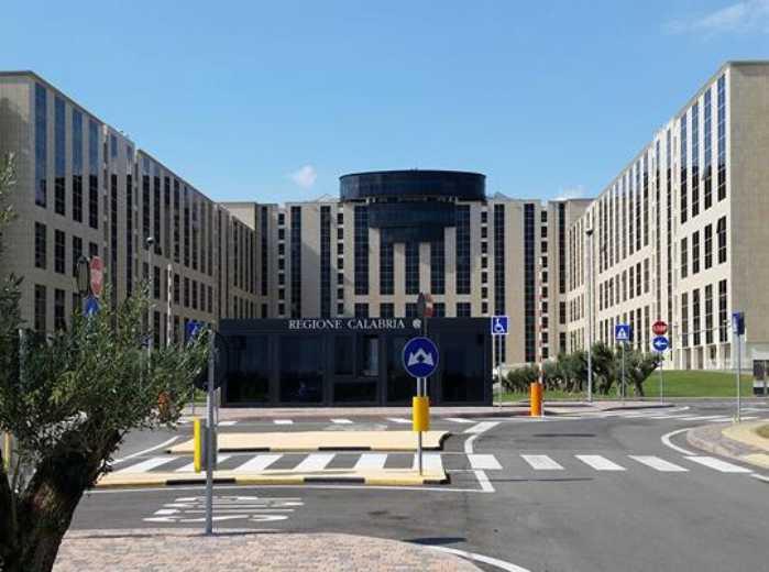 La nuova sede della Regione Calabria