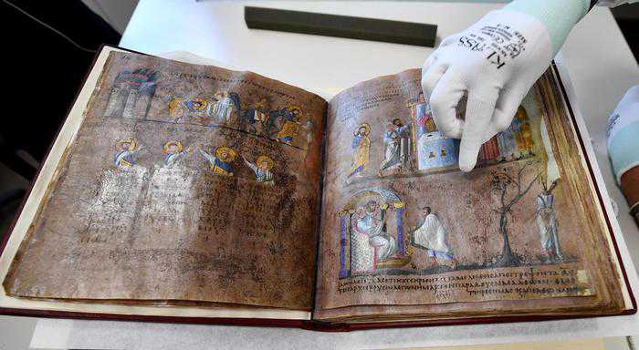 il Codex Purpureus Rossanensis
