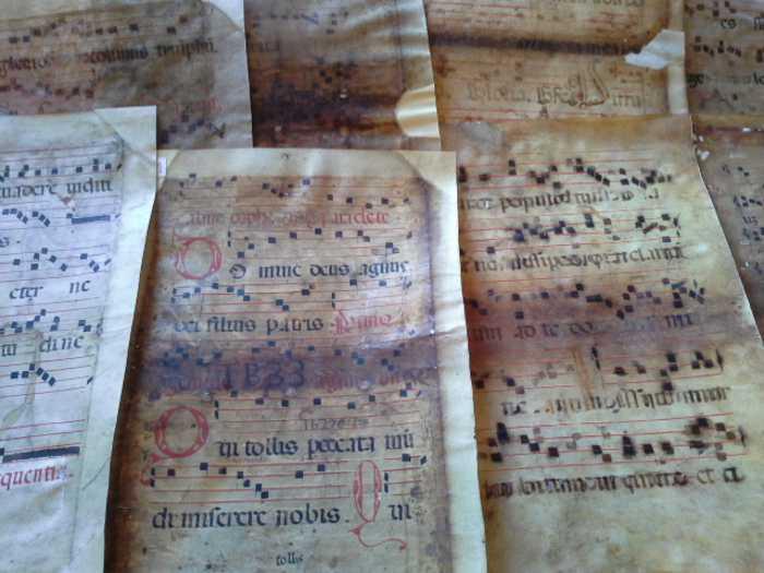 pergamene recuperate dal Tpc