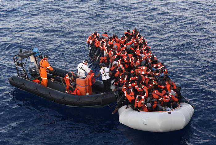 Sbarco migranti Palermo